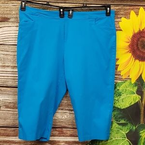 George Olympic blue 💙 Capris Size 3X Preowned
